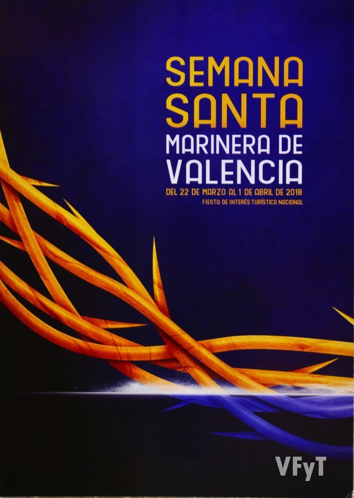 Accésit del concurso de carteles de la SSM. 'Espinas', de Rubén Lucas García. Foto de Rafa Montesinos.