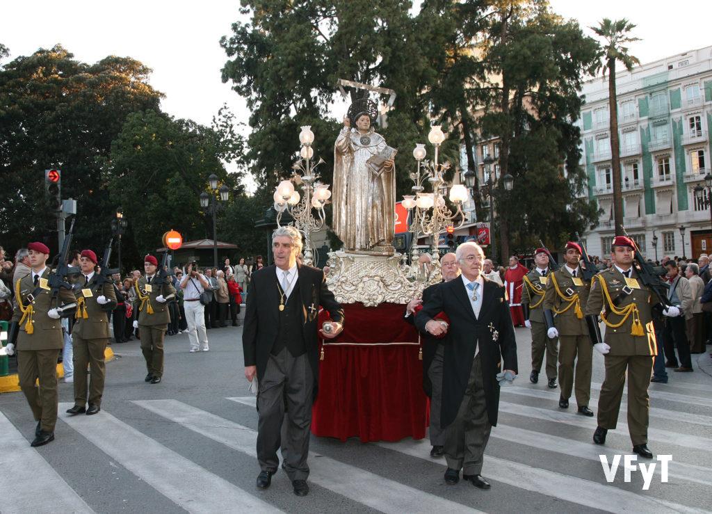 Solemne procesión de San Vicente Ferrer en Valencia. Foto de Manolo Guallart.