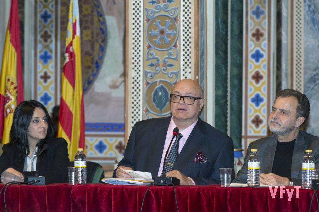 La intervención de José Luis Lliso, presidente de ARCHIVAL.