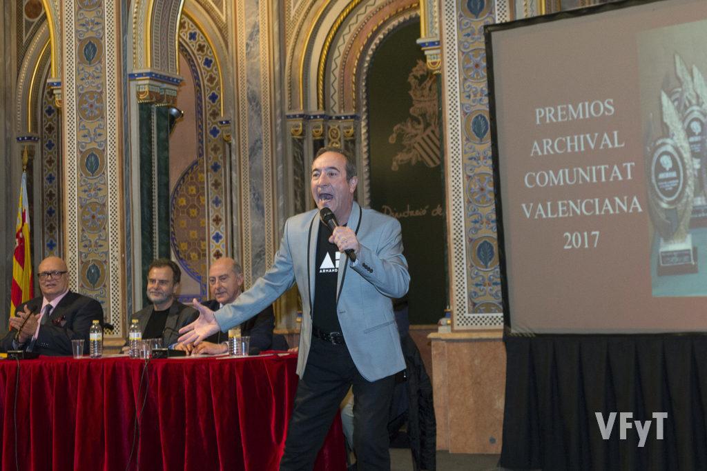 Antonio Rascón entusiasmó al público con su pasión musical.