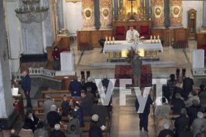 Transmisión de la Luz, fiel a fiel, en la fiesta de La Candelaria de Santa Mónica.