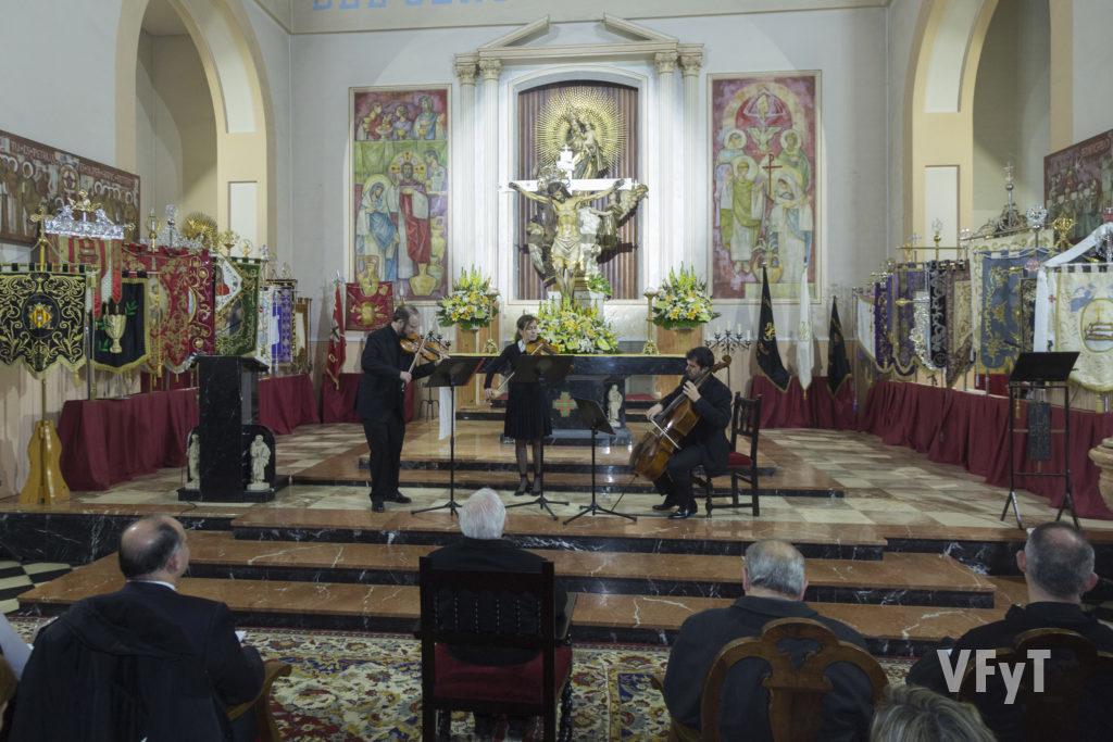 Concierto del trío de Corda 'Elan'. Foto de Manolo Guallart.