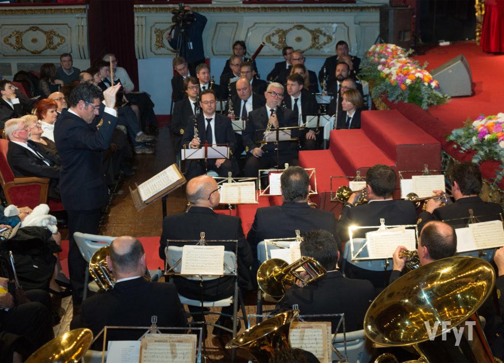 Detalle del concierto extraordinario de la Banda Municipal de Valencia en enero de 2017. Foto de Manolo Guallart.