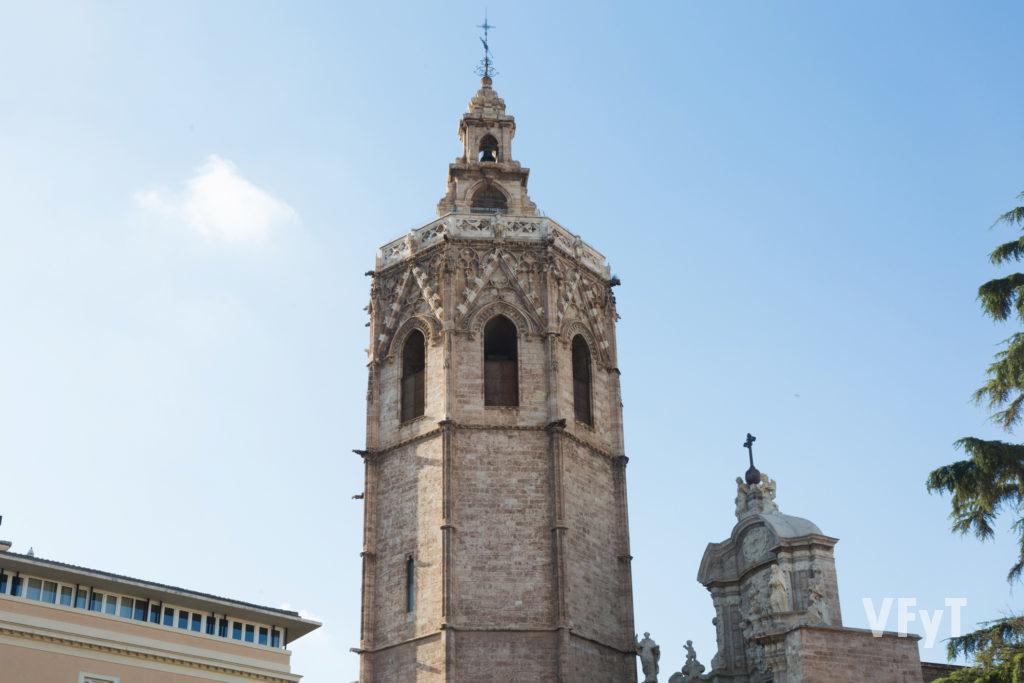 Las campanas de la torre del Miguelete protagonizan el 'Repret'