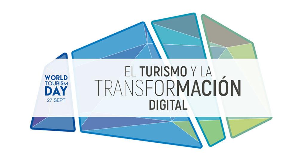 Logo oficial del Día Mundial del Turismo 2018