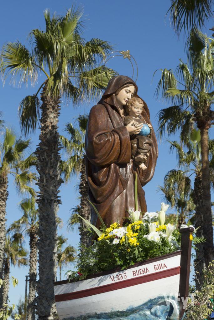 Virgen de la Buena Guía. Fotografía de Manolo Guallart.