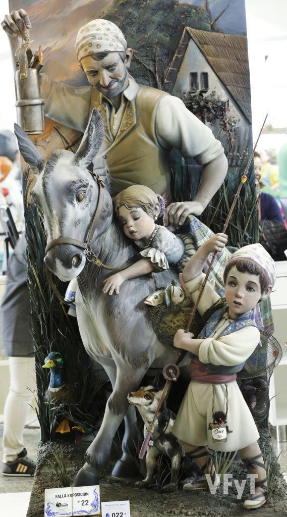 Ninot indultat 2019, obra de David Sánchez Longo para la Falla Exposición-Micer Mascó-Arévalo Baca