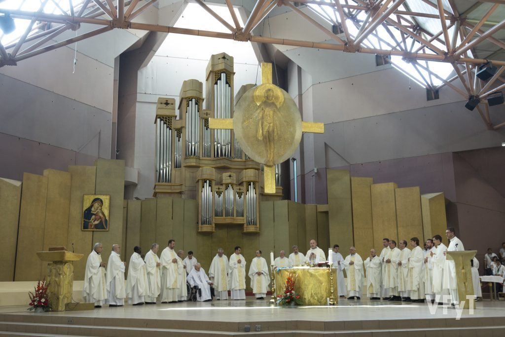 Eucaristía en la Capilla de Santa Bernadette