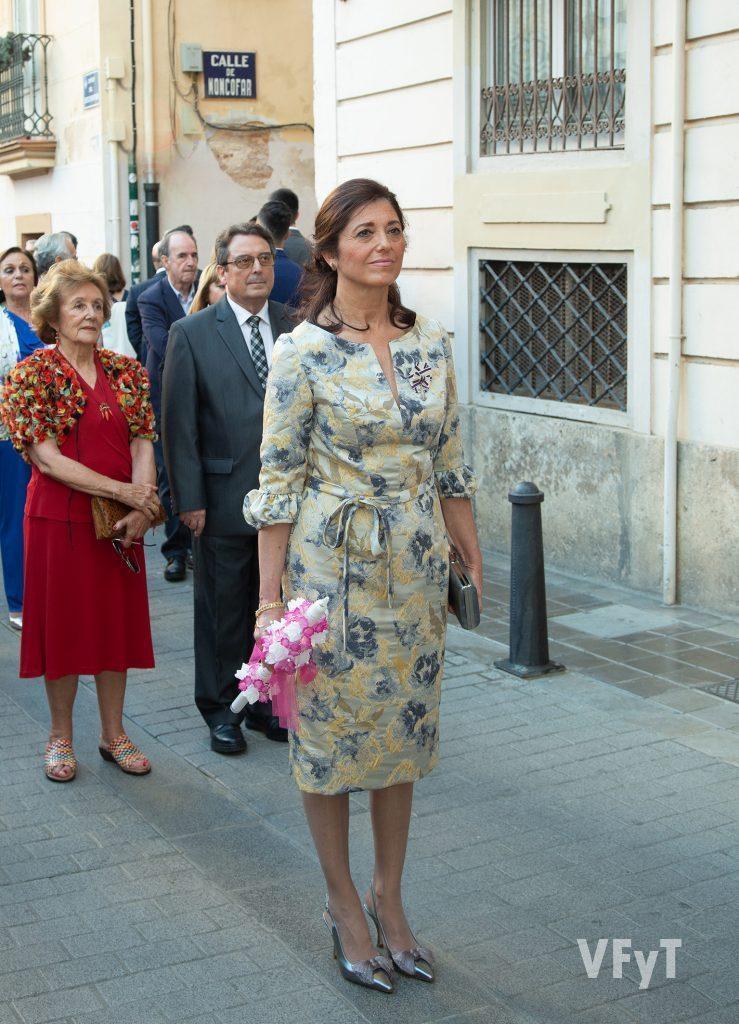 Rosa Cercós, Clavariesa Mayor de Sant Bult 2019. Foto de Manolo Guallart.