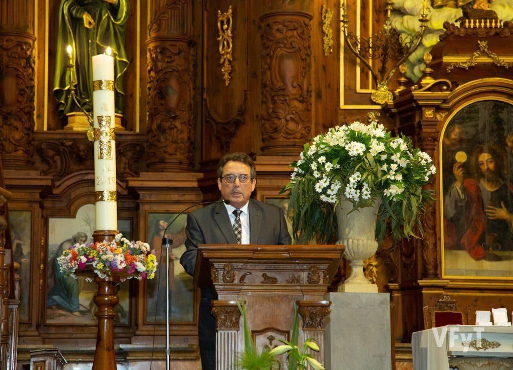 Blas Pizarro, en el Pregón de Sant Bult