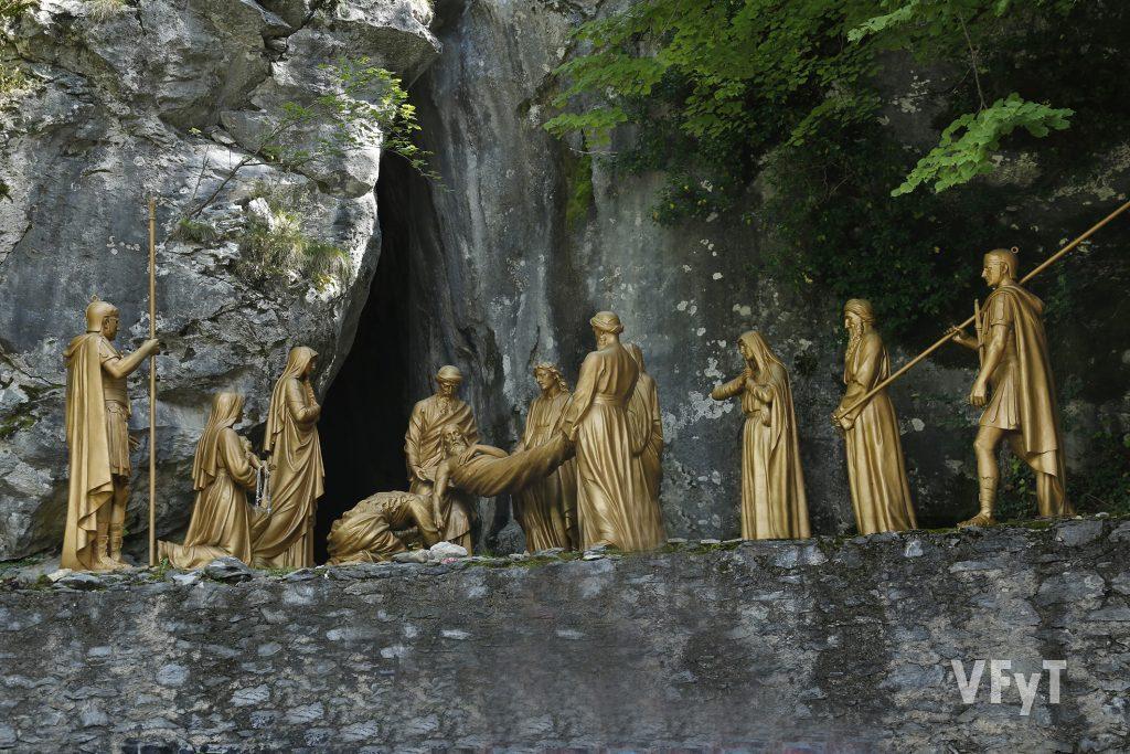 Via Crucis en la montaña