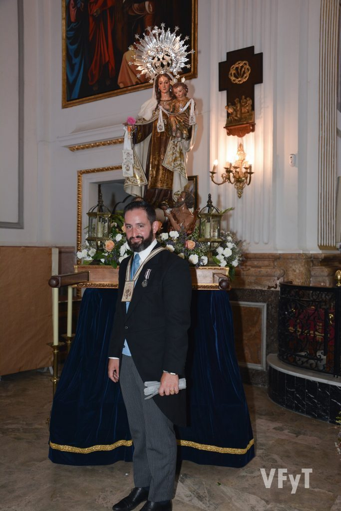 Jorge Segarra, Clavario Mayor 2019