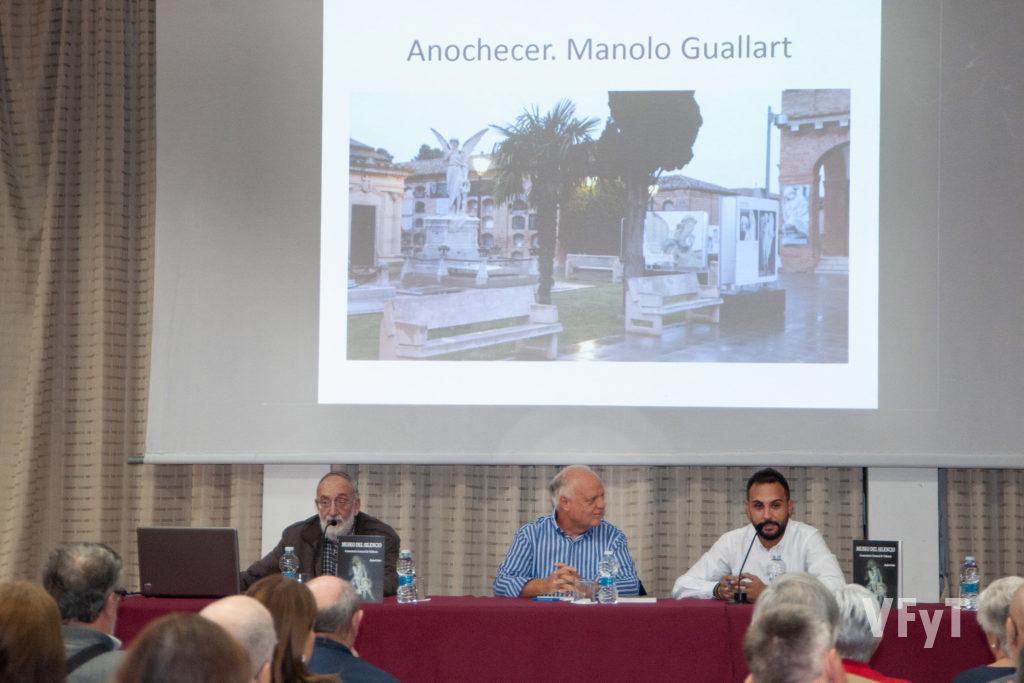 """Marcos Zacarés, Rafael Solaz y Antio Ramón en la presentación del libro """"El Museo del Silencio"""""""