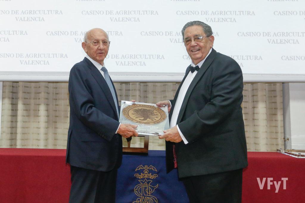 Premios Ilustres 2019. Rafael Císcar, fundador del Grupo DACSA.