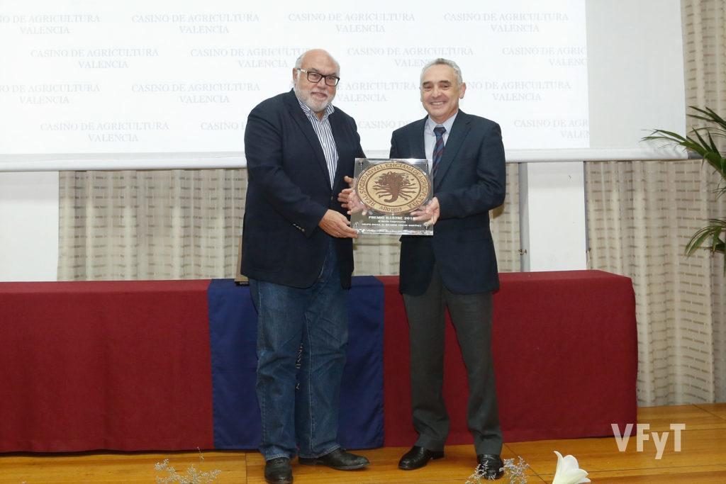 Premios Ilustres 2019. Instituto Valenciano de Investigaciones Agracias (IVIA)