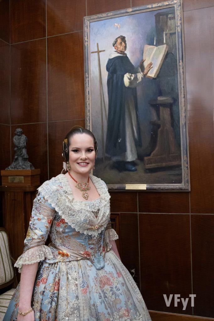 Ana Bonet Cerdá, Reina del Ateneo Mercantil de Valencia. Foto: Manolo Guallart.