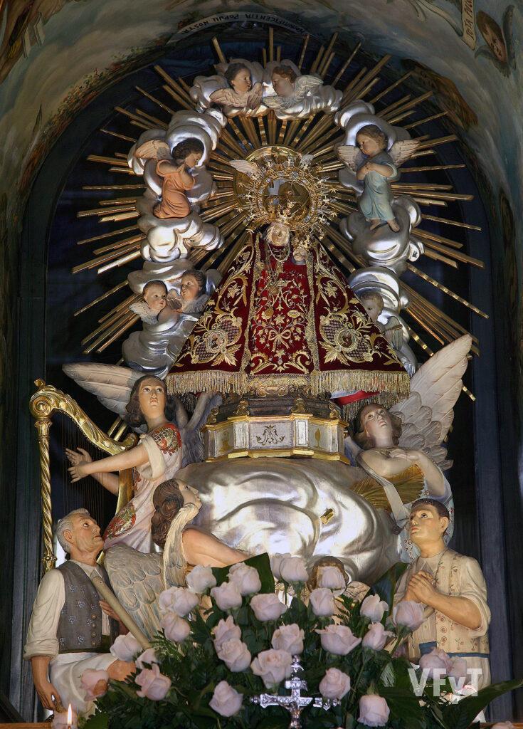 Virgen de Campanar. Foto: Manolo Guallart.