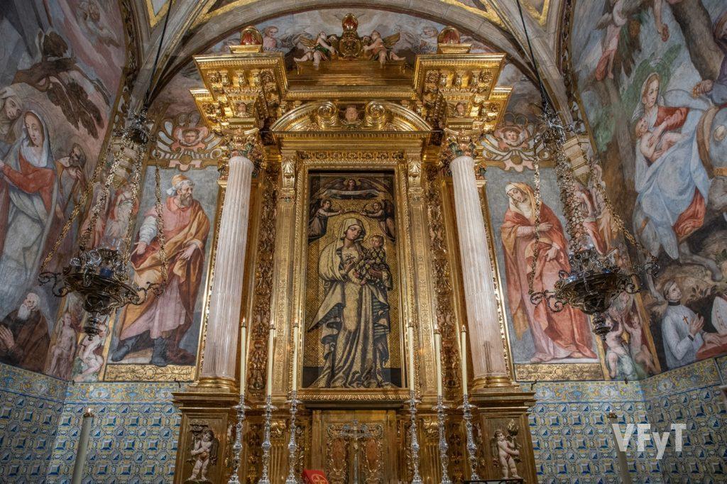 """Capilla de la Virgen de la Antigua en el Real Seminario Corpus Christi """"El Patriarca"""" de Valencia. Foto: Manolo Guallart."""