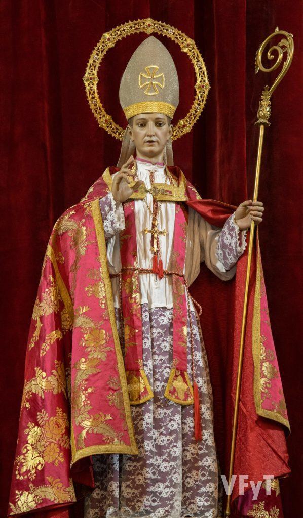 San Blas Obispo. Foto: Manolo Guallart.
